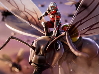 Ant Man 4K Fortnite wallpaper