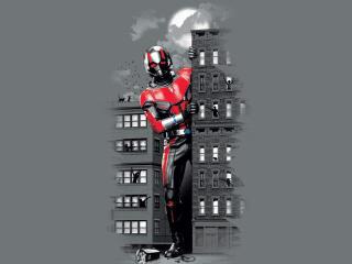 Ant-Man as Gaint-Man Artwork wallpaper