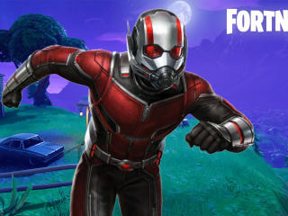 Ant-Man Fortnite Marvel Comics wallpaper