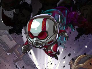 Ant-Man Marvel Comic Art wallpaper