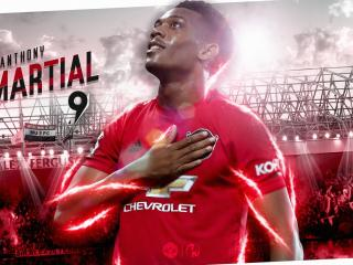 Anthony Martial 2021 wallpaper