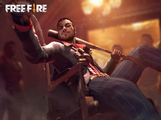 Antonio Free Fire wallpaper