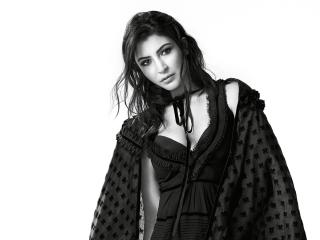 Anushka Sharma Monochrome For Vogue wallpaper