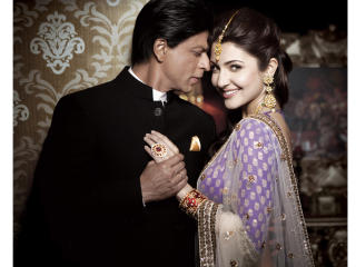 Anushka With SRK In Gitanjali Ad  wallpaper