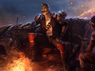 Apex Legends Mayhem Season 8 wallpaper