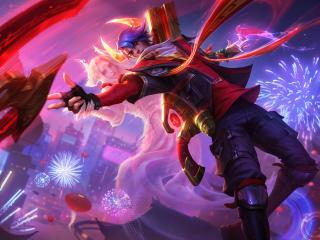 Aphelios 8K League Of Legends wallpaper