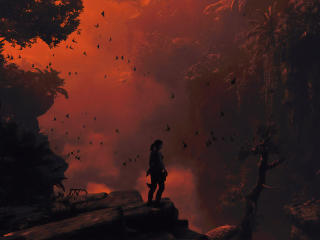 Apocalypse Shadow Of The Tomb Raider wallpaper