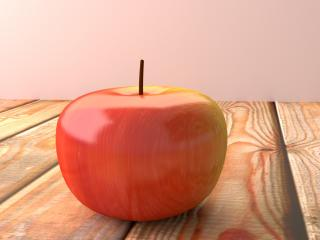 apple, fruit, surface wallpaper