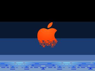 Apple Store Logo Art wallpaper
