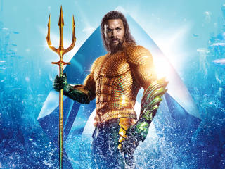Aquaman 2018 Movie 12K Poster wallpaper