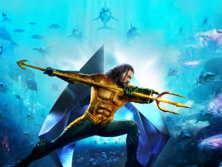 Aquaman 2018 Movie Banner Textless wallpaper