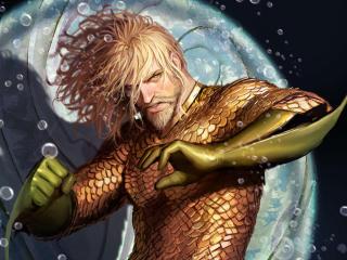 Aquaman Artwork wallpaper