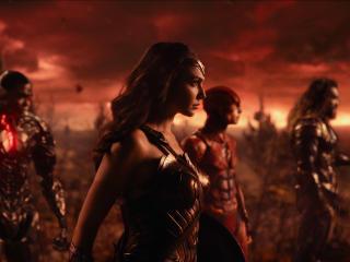 Aquaman, Cyborg, Flash, Gal Gadot And Wonder Woman Justice League wallpaper