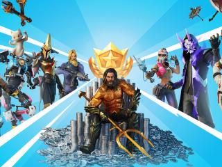 Aquaman Fortnite Season 13 wallpaper