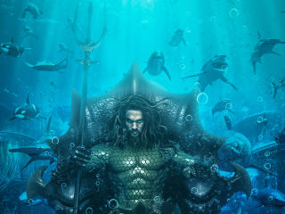 Aquaman King of Atlantis wallpaper