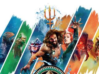 Aquaman Movie Team wallpaper