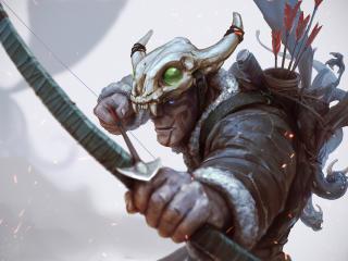 archer, hunter, art wallpaper