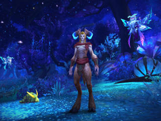 Ardenweald In WoW Shadowlands wallpaper