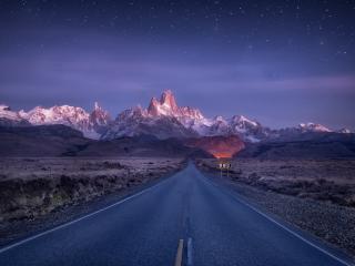 Argentina HD Road wallpaper