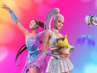 Ariana Grande Fortnite Outfit wallpaper