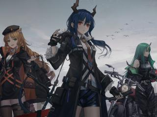 Arknights Girl Characters wallpaper