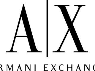 armani exchange, logo, brands wallpaper