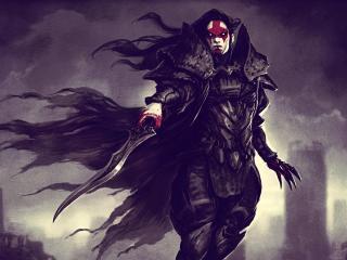 armor, warrior, sword wallpaper