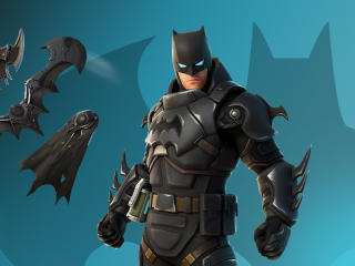 Armored Batman Zero Fortnite Chapter 2 wallpaper
