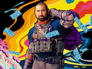 Army of the Dead Dave Bautista Poster wallpaper