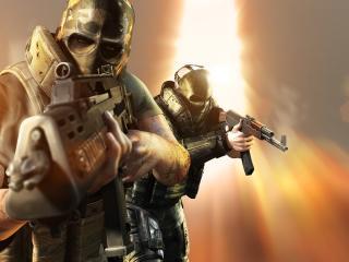army of two, arms, mercenaries wallpaper