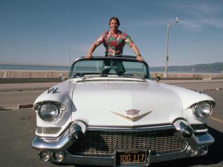 Arnold Schwarzenegger in Car wallpapers wallpaper