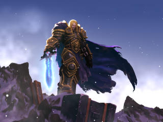 Arthas Menethil World Of Warcraft Game wallpaper