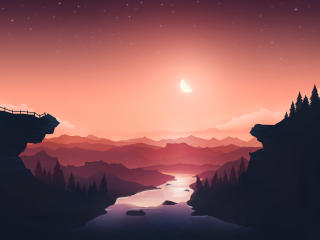 Artistic 4k Landscape 2021 wallpaper