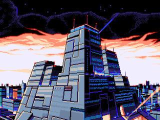 Artistic Building Pixel Art wallpaper