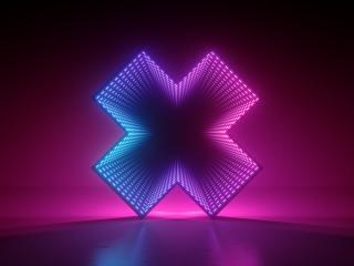 Artistic Cross 3D Art 4k wallpaper