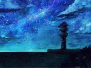 Artistic Dreamy Night HD wallpaper