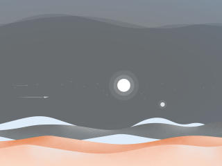 Artistic Dune NIght wallpaper