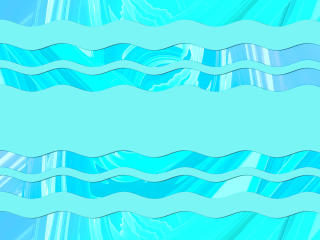 Artistic Waves Abstract wallpaper