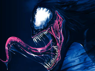 Artwork Venom wallpaper