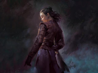 Arya Stark Dagger Game Of Thrones wallpaper