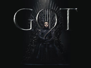 Arya Stark Game Of Thrones Season 8 Poster wallpaper