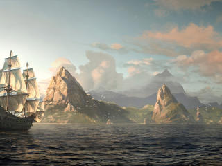 HD Wallpaper | Background Image assassin, pirate, edward kenway