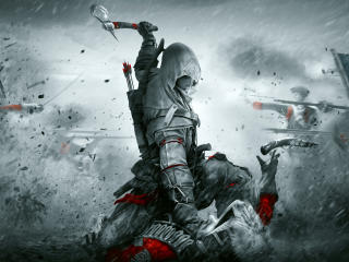 Assassin's Creed 3 4K wallpaper