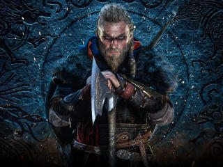 Assassin's Creed Valhalla Eivor Poster wallpaper