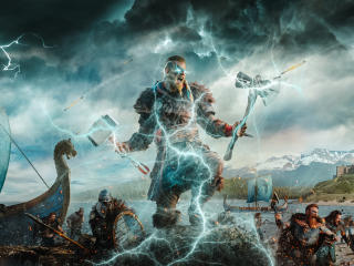 Assassin's Creed Valhalla Game 2020 wallpaper