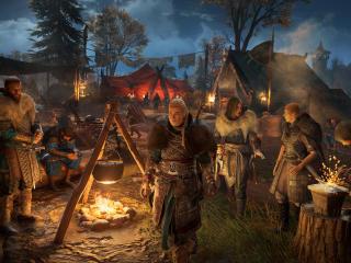 Assassin's Creed Valhalla Lady Eivor 4K wallpaper