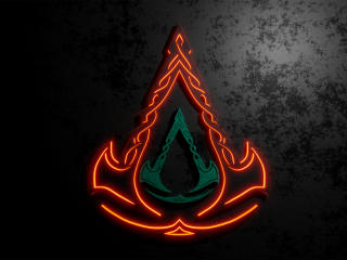 Assassins Creed Valhalla Cool Logo wallpaper