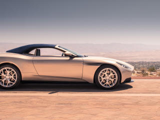 HD Wallpaper | Background Image Aston Martin Db11 Volante 2018 Side VIew
