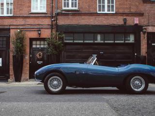 HD Wallpaper | Background Image Aston Martin DB2 Blue Sport Car