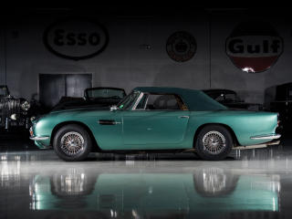 HD Wallpaper | Background Image Aston Martin Retro 1965-66 Volante